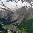 Saas Fee, Switzerland — Stock Photo #8857758