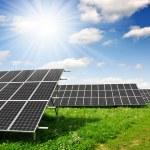 Solar energy panels — Stock Photo #8857837