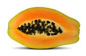 Exotische frucht papaya — Stockfoto