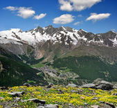 Saas Fee, Switzerland — Stock Photo