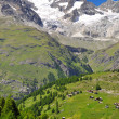 Mountain Ober Gabelhorn - Stock Photo