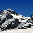 Breithorn and Klein Matterhorn - Stockfoto