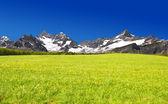Ober gabelhorn en zinalrothorn — Stockfoto