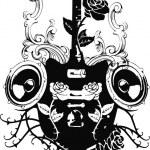 Постер, плакат: Guitar rock 2