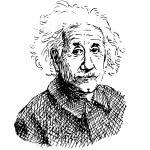 Albert Einstein — Stock Vector