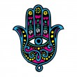 Hand of Fatima - Stock Vector