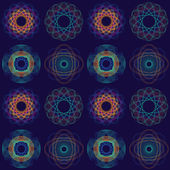 Intricate Circular Pattern — Stock Vector