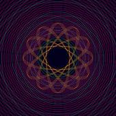 Atom Texture Background — Stock Vector