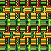 African Zig Zag Pattern — Stock Vector
