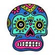 Mexican Skull Art — Stock Vector #8761862