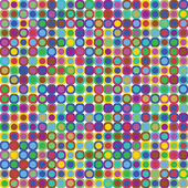 Colorful Dots Background — Stock Vector