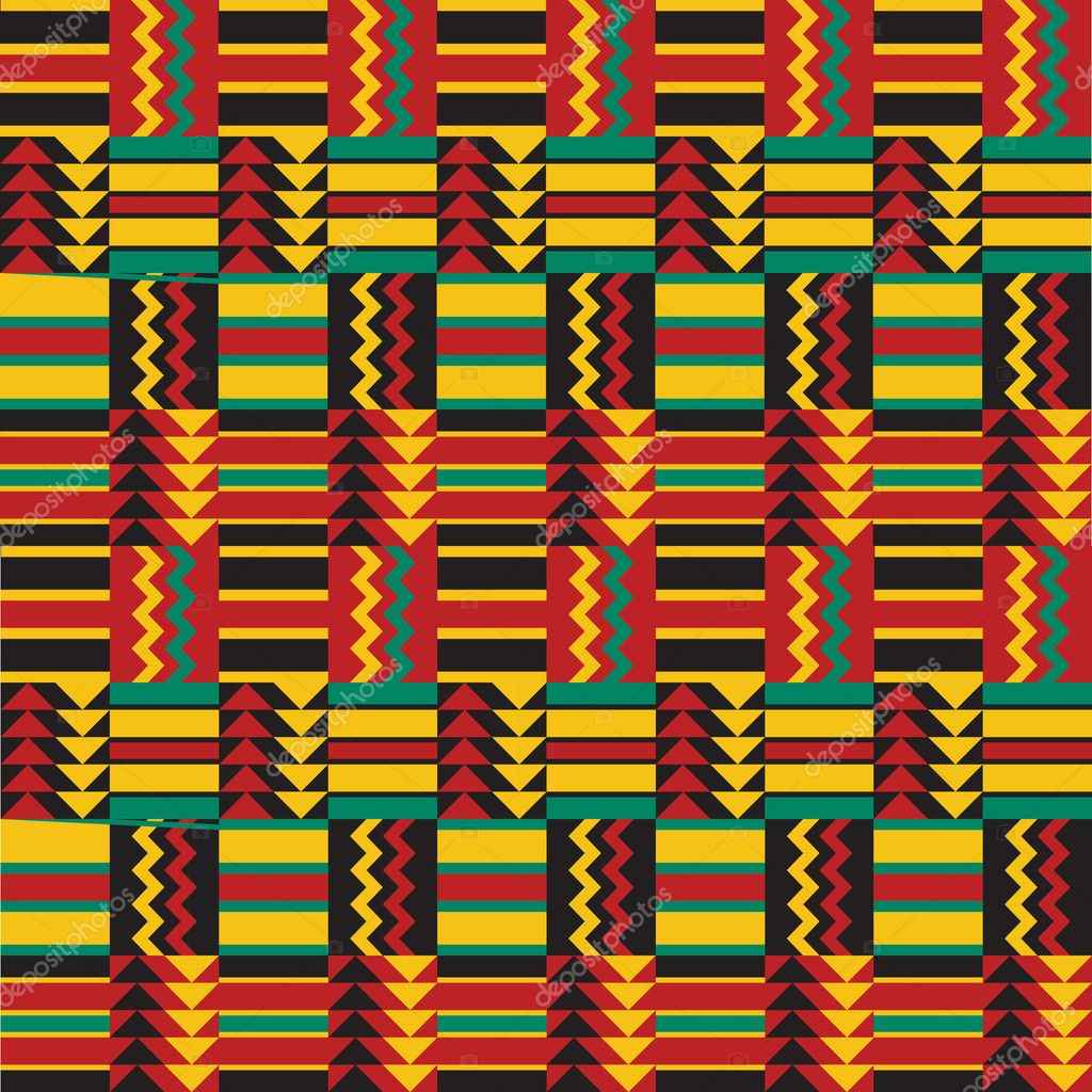 Tradtional geometric African Easy African Tribal Patterns