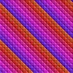 Eighties Seamless 3d Background — Stock Vector