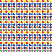 Seamless Candy Dots Pattern — Stock Vector