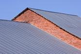 Corrugated roof — Stock Photo