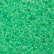 Macro green sponge texture - Stock Photo