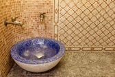 Interior of a Turkish steam bath — Stock Photo