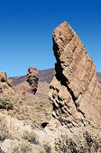 The Big Rock in Teide vulkan — Stock Photo