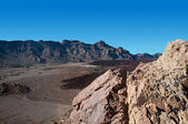 Mauntains in Teide — Stock Photo