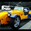 Stock Photo: Panoz Auto