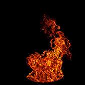 Flame blaze — Stock Photo