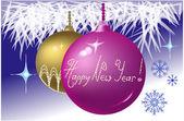 Joyeuses fêtes base rvb — Vecteur