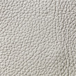 Elegant white leather texture — Foto Stock #10091728