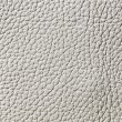 Elegant white leather texture — Stock Photo