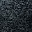 Elegant black leather texture - Stock Photo