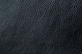 Elegant black leather texture — Stock Photo