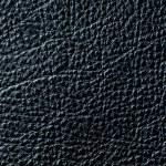 Elegant black leather texture — Stock Photo