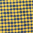 Retro tablecloth yellow-black texture — Stock Photo