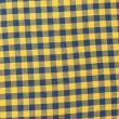 Stok fotoğraf: Retro tablecloth yellow-black texture