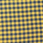 Retro tablecloth yellow-black texture — Stock Photo