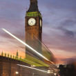 Sunset at Big Ben — Stock Photo