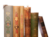 Stack antique books — Fotografia Stock
