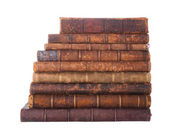 Stack antique books — Foto Stock