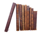 Stack antique books — Stock Photo