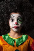 Portrait of clown — Stock Photo