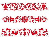 Traditionele russische ornament — Stockvector