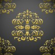 Seamless royal floral pattern - Stock Vector