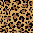 Leopard skin pattern — Stock Vector