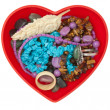 Heart shaped jewel box — Stockfoto