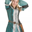Blond elf girl — Stock Photo