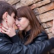 Picture of kissing couple — Stock Photo
