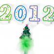 Royalty-Free Stock Photo: Happy new year 2012