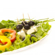 Greek salad closeup — Stock Photo #9024571