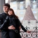 Young romantic couple — Stock Photo #9110731