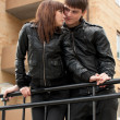 Picture of lovers couple — Stockfoto