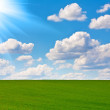 Perfect sky and sun — Stock Photo #8083498